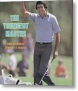 Seve Ballesteros, 1980 Masters Sports Illustrated Cover Metal Print