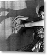 Shadow Dance Metal Print