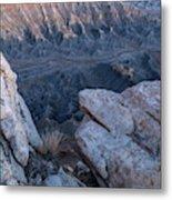 Shale Mountain Metal Print