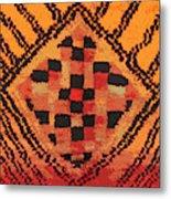 Shaman Tribal Badge Metal Print