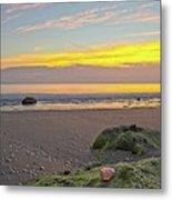 Shells On The Beach 2 Metal Print