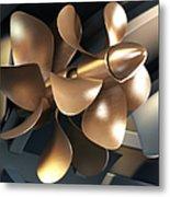 Ship Propeller Metal Print