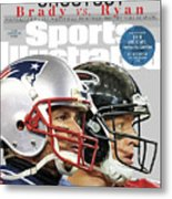 Shootout Super Bowl Li Preview Sports Illustrated Cover Metal Print