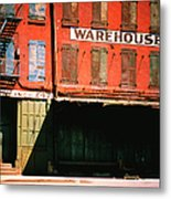 Shuttered Warehouse On The Lower East Metal Print