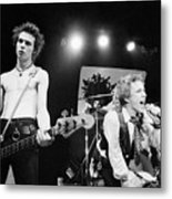 Sid Vicious And Johnny Rotten Metal Print