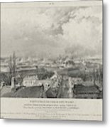 Siege Of The Citadel Of Antwerp Metal Print