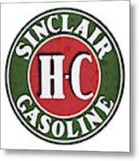 Sinclair Gasoline Metal Print