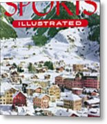 Skiing At The Parsenn Sports Illustrated Cover Metal Print