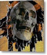 Skull - 9 Metal Print