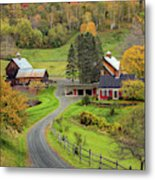 Sleepy Hollow Farm Metal Print