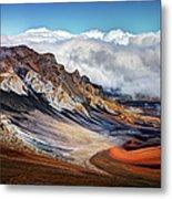Sliding Sands Trail, Haleakala National Metal Print