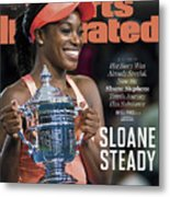 Sloane Steady Sports Illustrated Cover Metal Print
