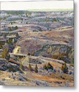 Slope County Badlands Reverie Metal Print