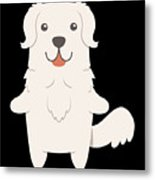 Slovak Cuvac Dog Gift Idea Metal Print