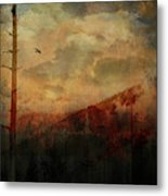 Smoky Morning Metal Print