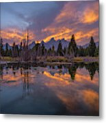 Snake River Glory Metal Print