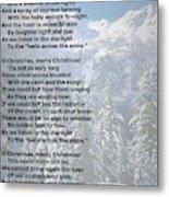 Snow Bells Metal Print