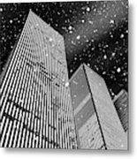 Snow Collection Set 03 Metal Print