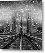 Snow Collection Set 04 Metal Print
