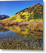 Snowmass Creek Metal Print