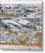 Snowy Dakota Metal Print