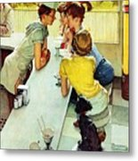 Soda Jerk Metal Print