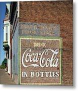 Soft Drink Mural Metal Print
