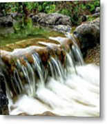 Soft Water Metal Print
