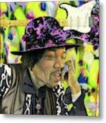 Sonic Exploration - A Jimi Hendrix Portrait Metal Print