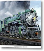 Southern Railway Class Ps-4 Pacific Metal Print