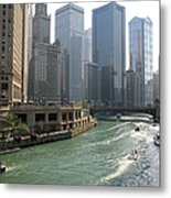 Spectacular Chicago Downtown Metal Print