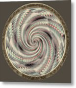 Spinning A Design For Decor And Clothing Metal Print