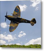 Spitfire Mk356 Metal Print