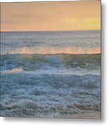 Spray Metal Print
