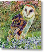 Spring Attraction Metal Print