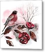 Spring Rests In The Heart Of Winter Metal Print