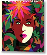 Spring To Mind Metal Print