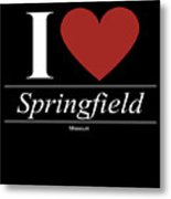 Springfield Missouri Mo Missourian Metal Print