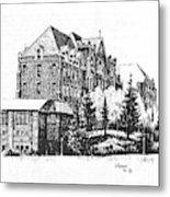 St Charles Hall Carroll College Helena Montana Metal Print