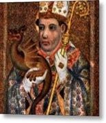 St Hilary, 1365-1367 1955. Artist Metal Print