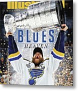 St. Louis Blues, 2019 Nhl Stanley Cup Champions Sports Illustrated Cover Metal Print