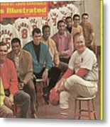 St. Louis Cardinals, 1968 World Series Champions Sports Illustrated Cover Metal Print