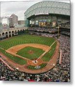 St. Louis Cardinals V Houston Astros Metal Print