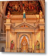 St. Louis Cathedral Altar New Orleans Metal Print