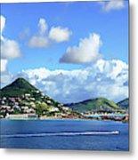 St. Maarten Panorama Metal Print
