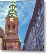 St. Nikolai Church Tower Metal Print