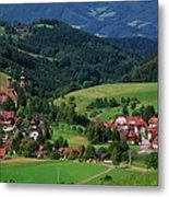St. Peters Abbey, Black Forest, Germany Metal Print