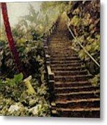 Stairway To Yesterday Metal Print
