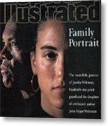 Stanford University Jamila Wideman Sports Illustrated Cover Metal Print