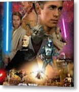 Star Wars Episode II Metal Print